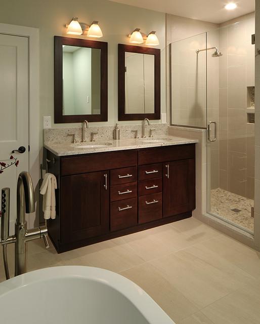 transitional denver home transitional bathroom
