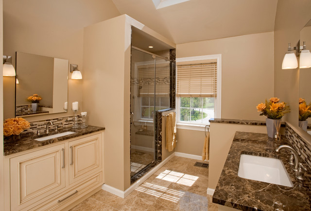Master Bathroom Vanity His And Hers