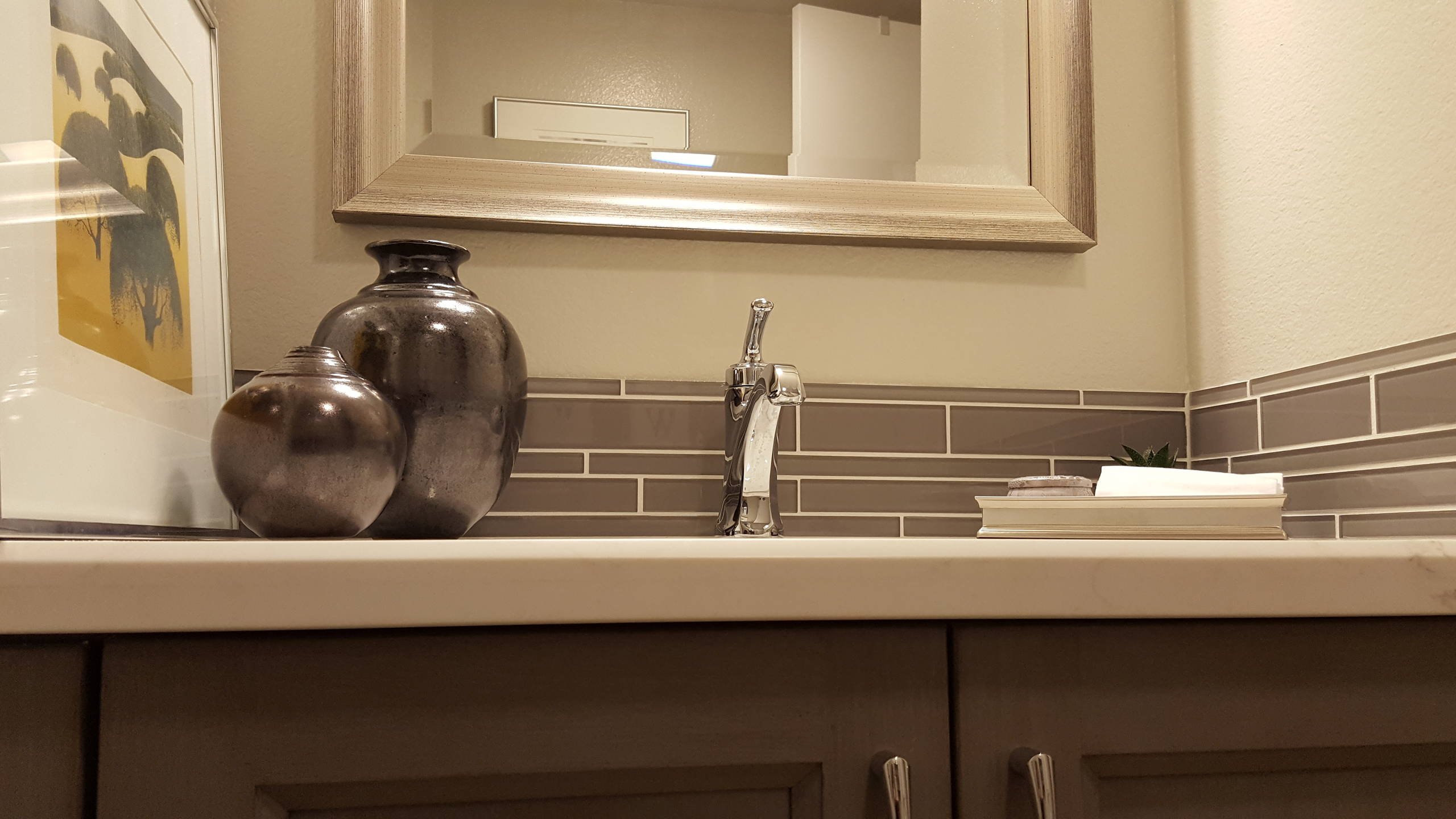Transitional Guest-bath,  Fountain Valley CA