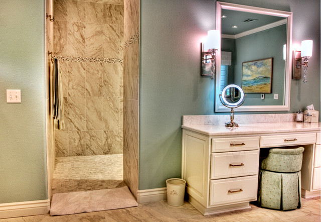Bathroom Remodeling Tulsa : Transitional home remodel in tulsa ok