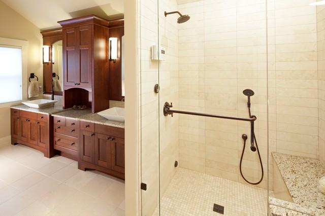 Transitional homes contemporary bathroom calgary by empire kitchen bath - Empire kitchen and bath ...
