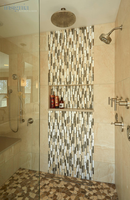 Transitional Luxury Master Bathroom In Long Grove Il