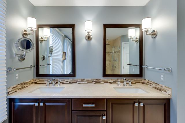 Transitional Maple Kona Bathroom Transitional Bathroom