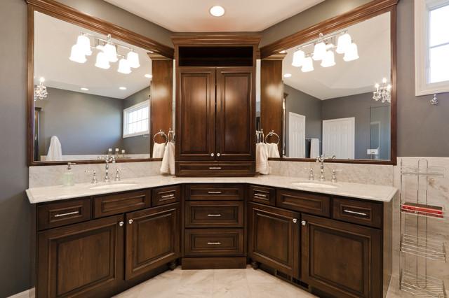 Naperville Master Bathroom Remodel Traditional Bathroom