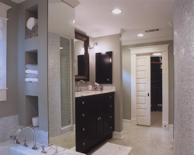 Transitional Master Bathroom Ideas : Transitional master bath contemporary bathroom