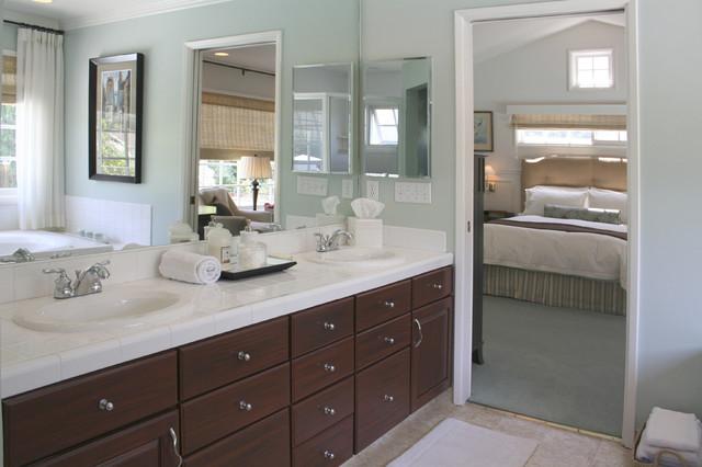 Transitional Master Bath transitional-bathroom