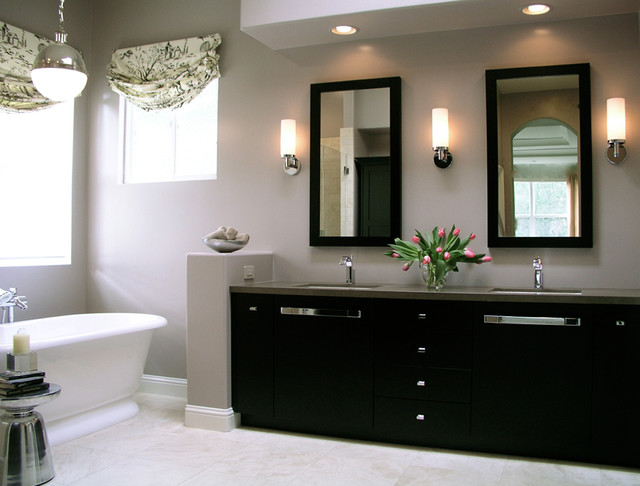 Transitional Master Bathroom Traditional Bathroom