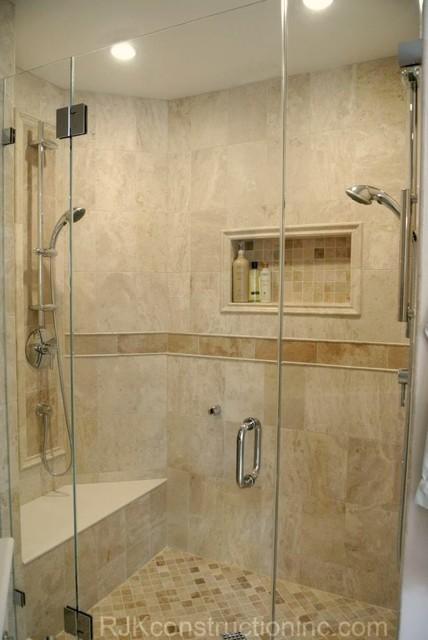 Transitional Master Bathroom Remodel contemporary-bathroom