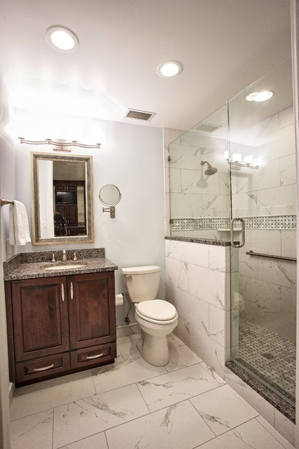 Stunning whole house remodel traditional bathroom for Whole bathroom remodel