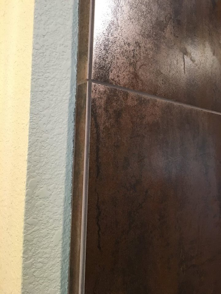 Transitional Shower Remodel in Mountain Ranch, California