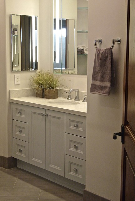 TRANSITIONAL STYLE Inset Flat Panel Doors Drawers