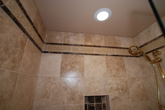 Excellent Kitchen And Master Bath Remodel Ritz Pointe Traditional Bathroom Tile