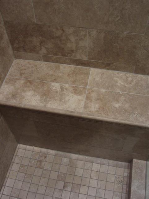 Travertine bathroom remodel traditional-bathroom