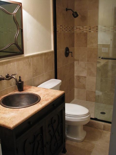 Travertine Bathrooms Traditional Bathroom Phoenix