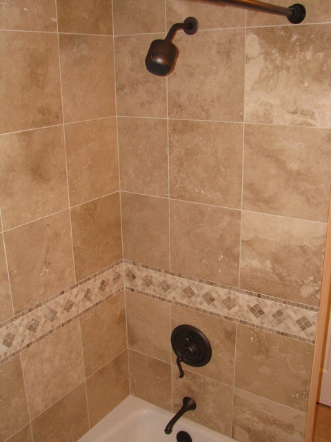 Travertine Bathrooms traditional-bathroom