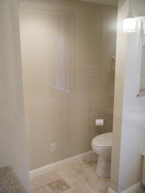 Travertine Masterbath traditional-bathroom