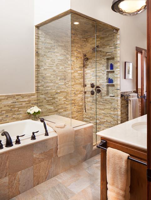 Tree Haus Renovation Traditional Bathroom Denver