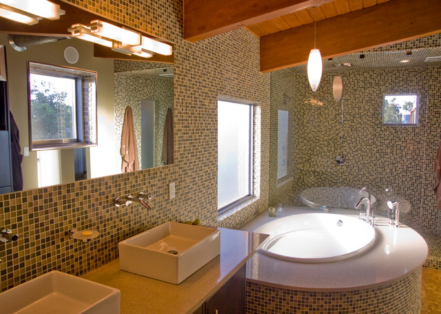 Tree house contemporary bathroom other metro by crforma design build - Tree house bathroom ...