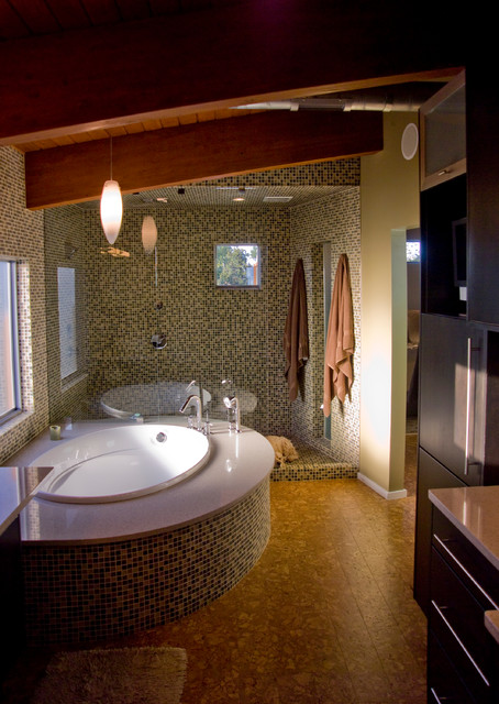 Tree house modern bathroom other metro by crforma design build - Tree house bathroom ...