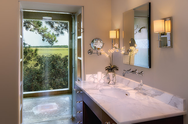 Tree House-Kiawah Island contemporary-bathroom
