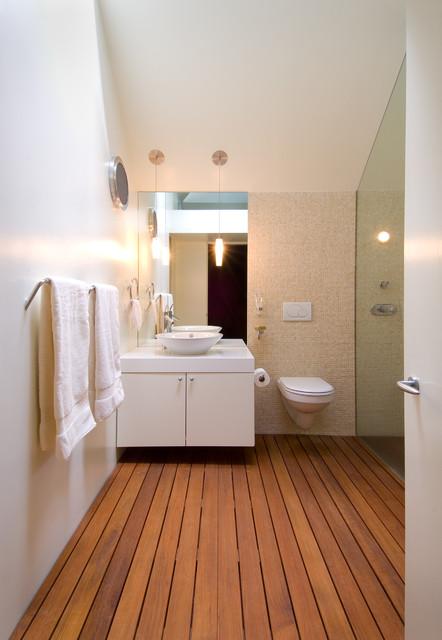 Tree house contemporary bathroom dc metro by meditch murphey architects - Tree house bathroom ...