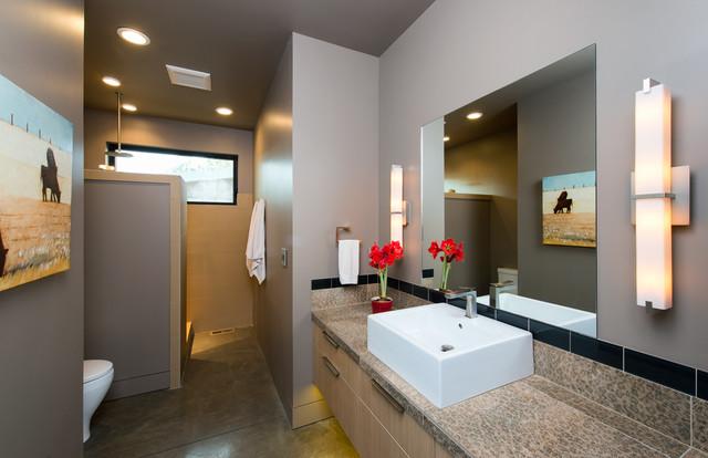 Tree house contemporary bathroom other metro by neal huston associates - Tree house bathroom ...