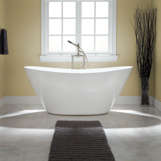 treece acrylic tub - contemporary - bathroom - cincinnati -