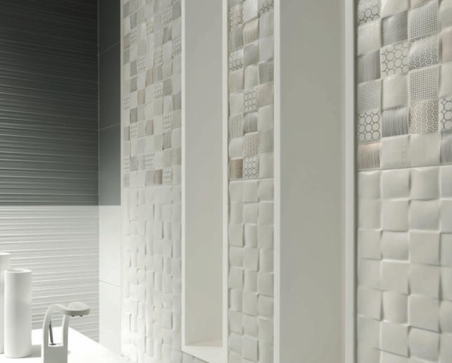 Trends 2015 contemporary bathroom other metro by lucke for Latest bathroom tile trends 2015