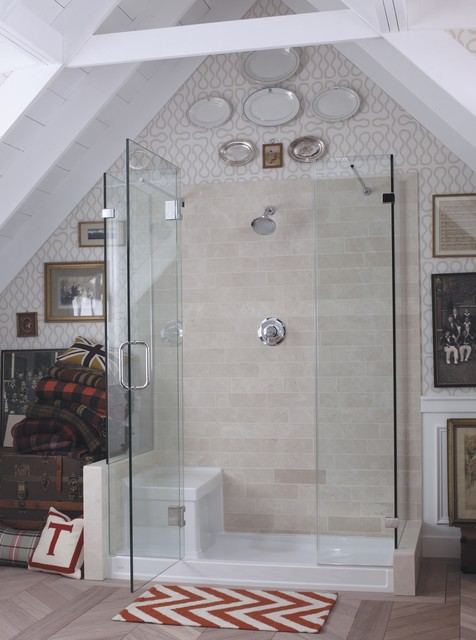 Tresham Bathroom Collection eclectic bathroom