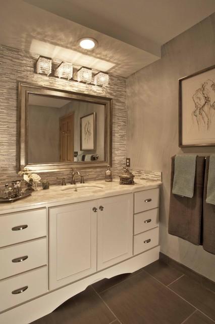 Tresured Bathroom traditional-bathroom