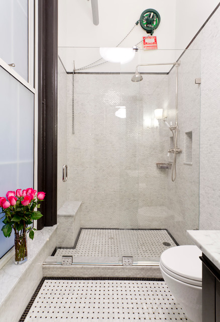 Tribeca Bathroom Remodel Modern Bathroom New York