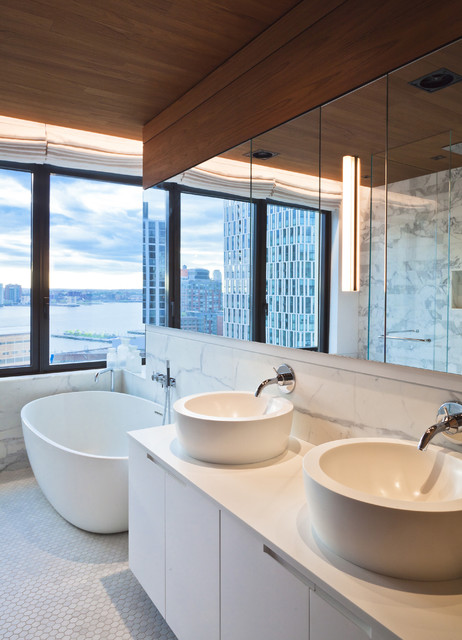 Tribeca Loft Modern Bathroom Other Metro By Ccs Architecture
