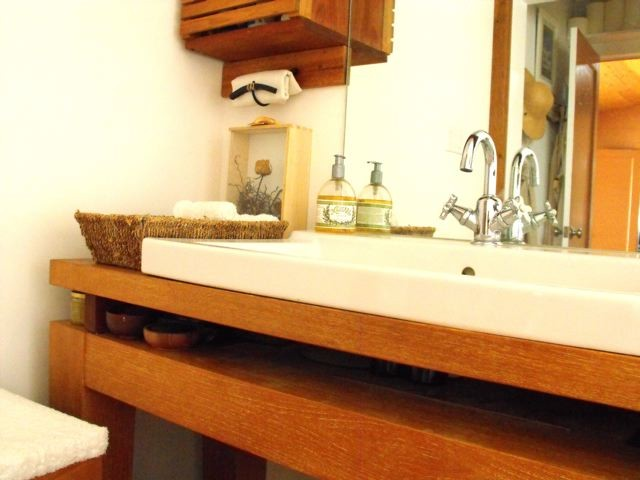 eclectic bathroom by Rough Linen