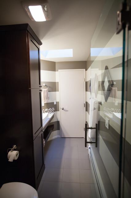 Trick of the eye bathroom remodel ecl ctico cuarto de - Bano ocular ...
