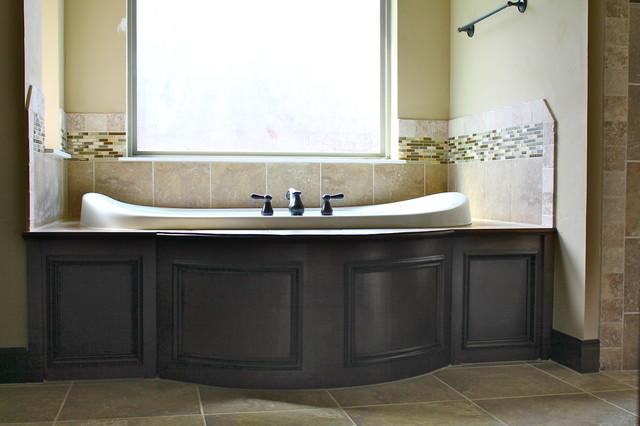 Trim work traditional bathroom oklahoma city by for Bathroom cabinets okc