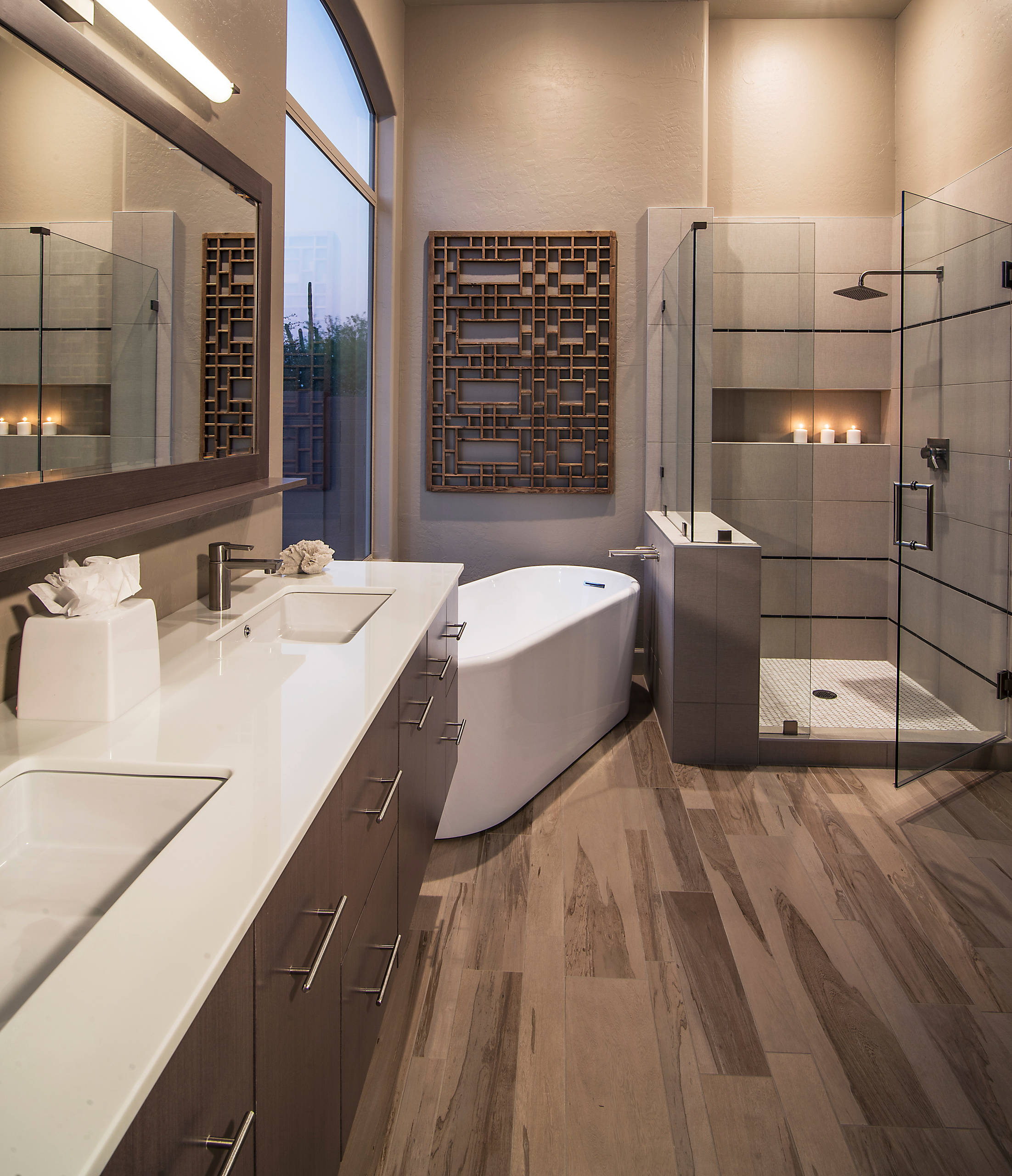 75 Beautiful Bathroom With Brown Cabinets Pictures Ideas March 2021 Houzz