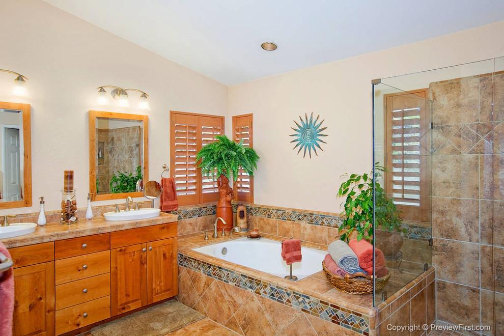 Tropical Bathroom Alpine - Tropical - Bathroom - San Diego ...