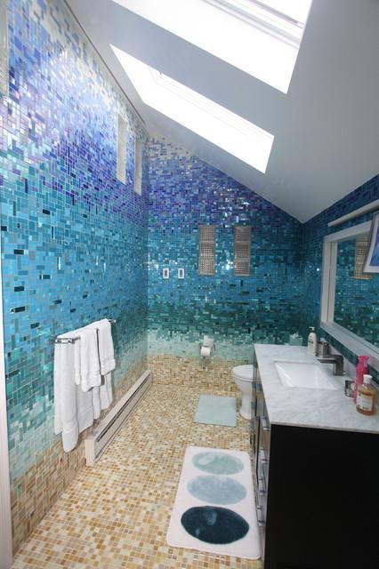 Tropical Bathroom Tropical Bathroom Other Metro By