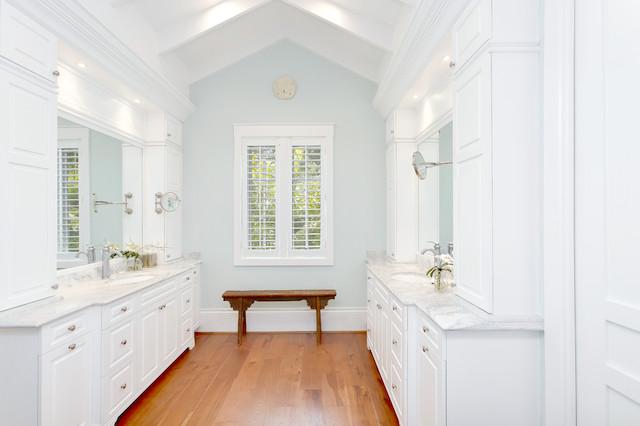 West Indies House Design tropical-bathroom