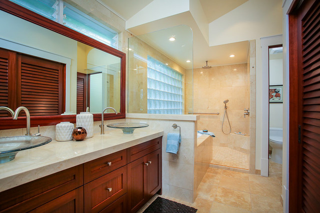 Tropical Luxury - Tropical - Bathroom - hawaii - by Kelso Architects
