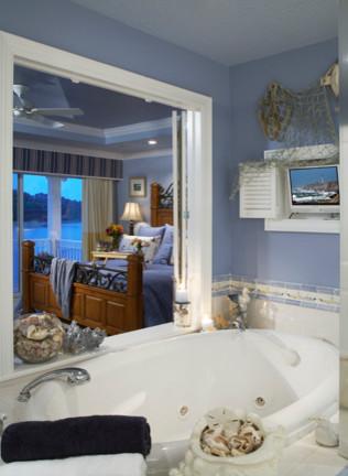 Tropical Paradise traditional-bathroom