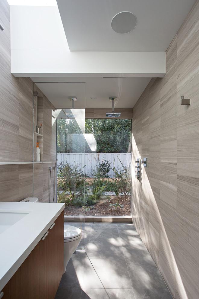 Bathroom - 1960s bathroom idea in San Francisco