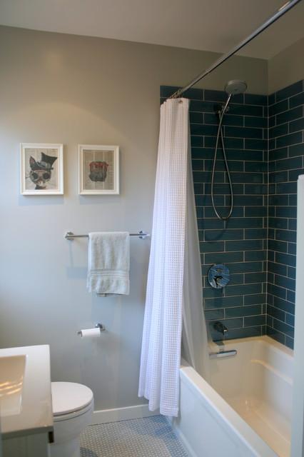 Tub Shower modern-bathroom