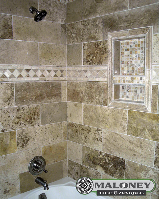 Bathroom Tile Ideas For Tub Surround : Tub surround bathroom detroit by maloney tile