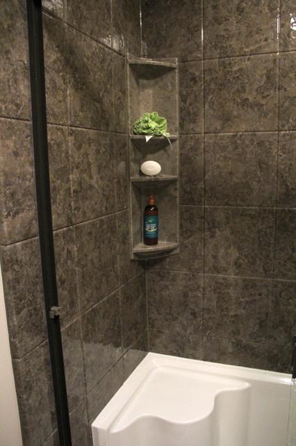 Tub To Shower Conversion In Dallas Contemporary