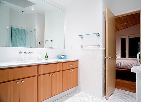 Tubman Residence contemporary-bathroom