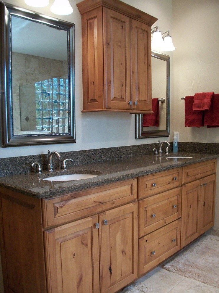 Tucson's Bathroom Remodel - Transitional - Bathroom ...