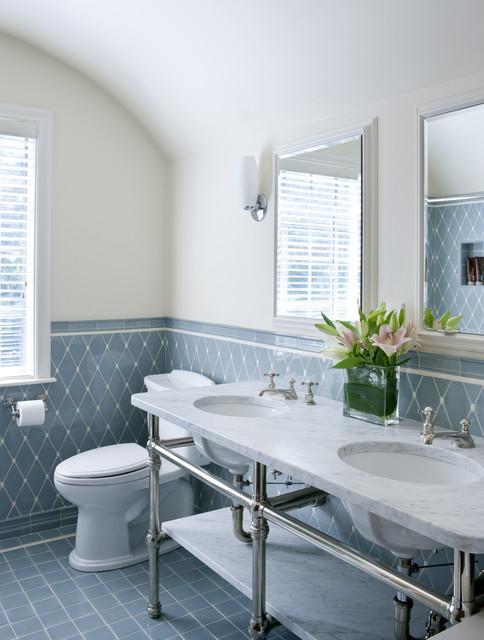 Tudor Addition Bath traditional-bathroom