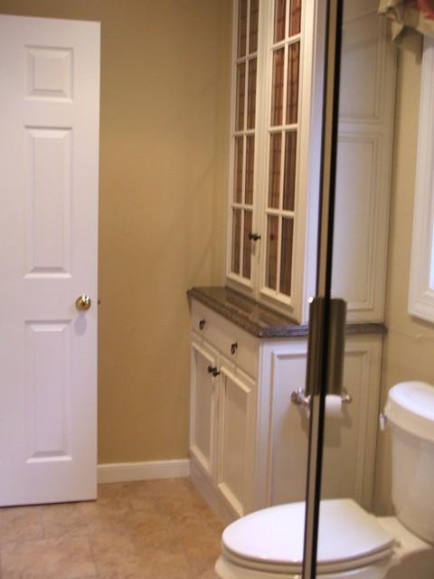 Tudor bathroom remodel for Tudor bathroom design