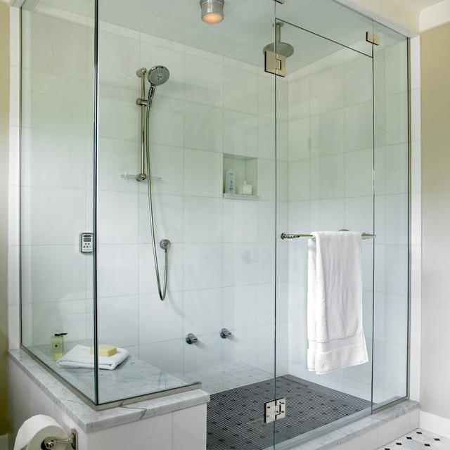 Tudor house ensuite transitional bathroom other for Tudor bathroom design